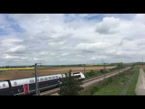 TGV Duplex Carmillon 29049/050 effectue un 7025 Paris Nord Lille Flandres Direct