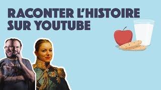 RACONTER L'HISTOIRE ft. La Prof & Confessions d'Histoire - LIVE GOÛTER #3
