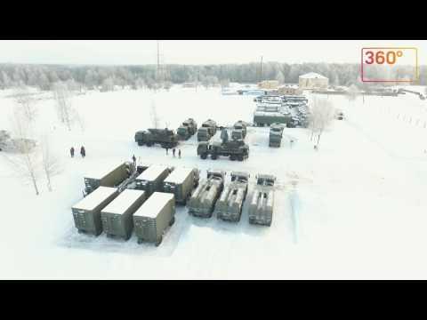 Коптеры сняли новый комплекс зенитной ракетной системы