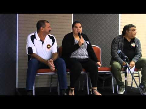 Sports Committees Panel at Aboriginal Sports Conference