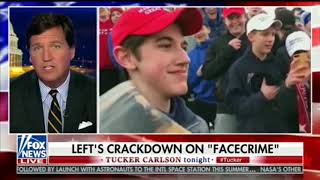"Tucker: MAGA Hat Kid Committed ""FaceCrime"""
