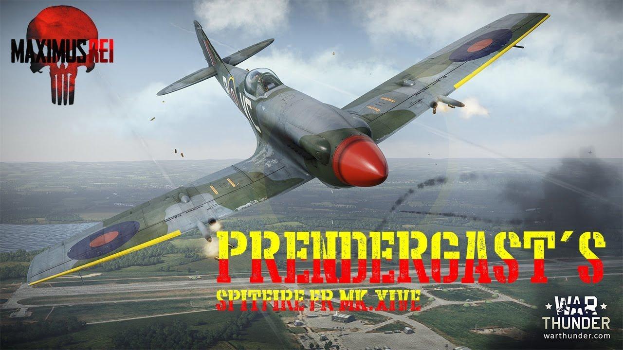 war thunder spitfire fr