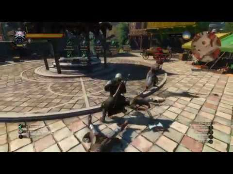 The Witcher 3: Critical Damage, Vitality, Strong Attack Build