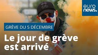 France : le jour de grève est arrivé