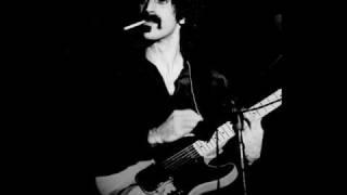 Frank Zappa - Be-Bop Tango - 1973, Waterloo (audio) - part 1