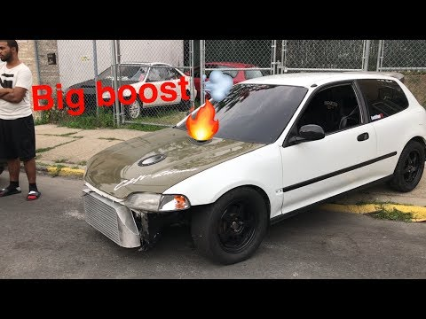 MONSTER K20 TURBO BUBBLE AND 2 CRAZY CAR MEETS !