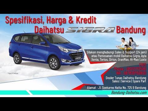 Spesifikasi, Harga & Kredit Daihatsu Sigra 2019 Bandung