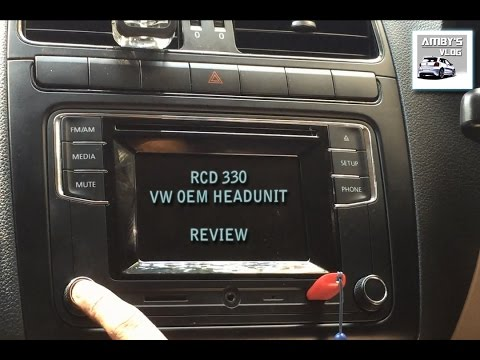 rcd 330 vw headunit review india vw rcd polo retrofit polo 2011 youtube. Black Bedroom Furniture Sets. Home Design Ideas