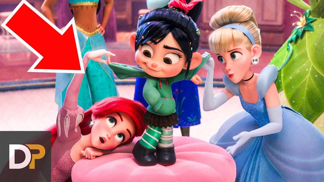 Veces Que Aparecieron Princesas De Disney En Otras Películas Youtube