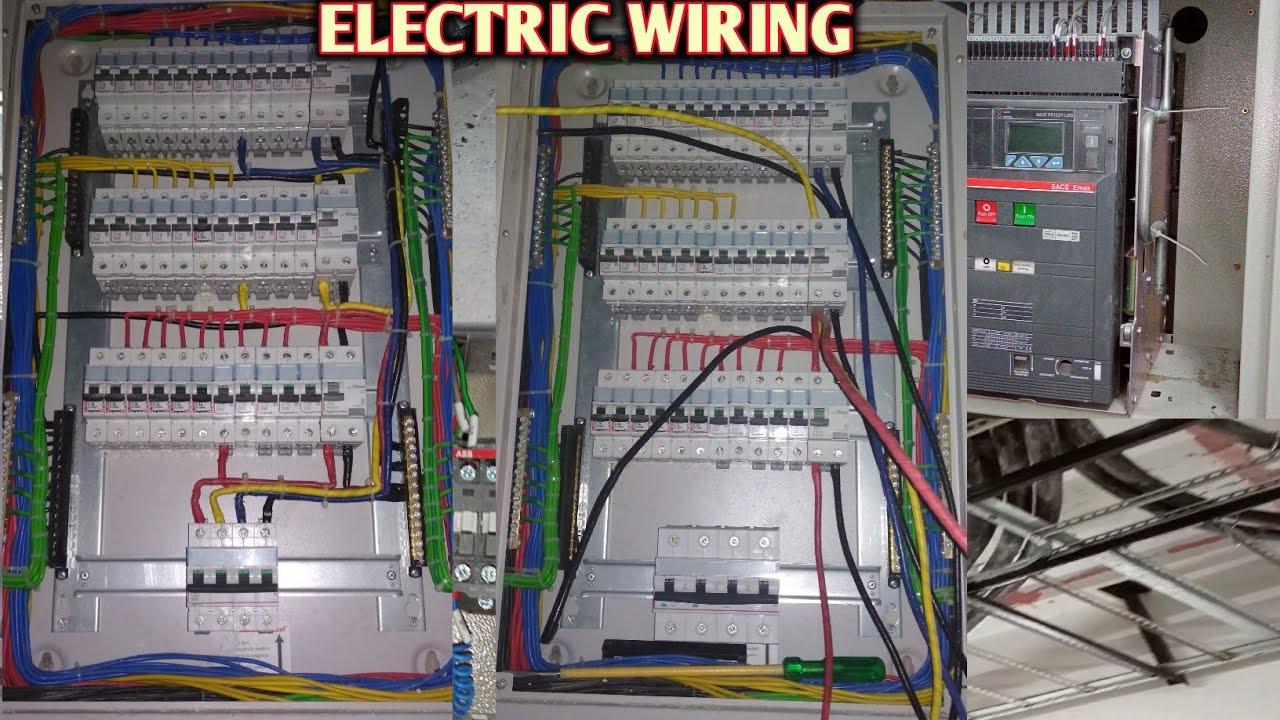 3phese Mcb Board Connection T  P  N Connection And Wiring Diagram