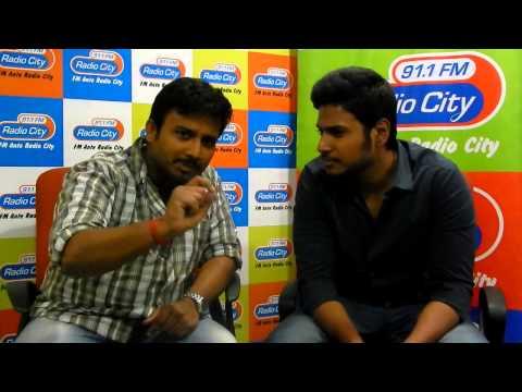 Sundeep Kishan with Potugaadu #Radiocity Hyderabad