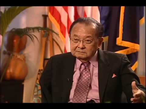 Exclusive Interview with Sen. Daniel Inouye Pt. 2
