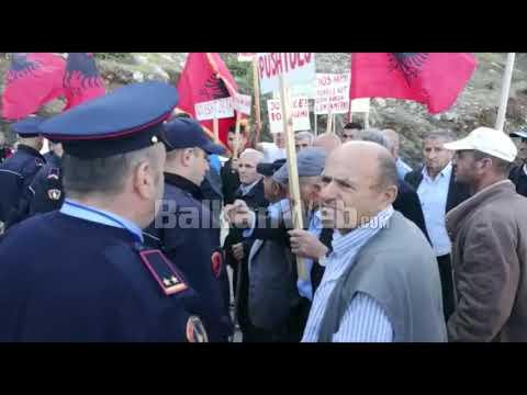 Mat, banorët kundërshtojnë ndërtimin e HEC në Zall Gjoçaj, konfliktohen me  policinë