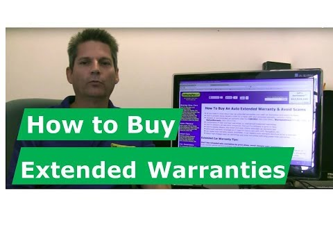How To Buy Extended Warranties For New Cars And Used Cars, Avoid Dealer Scams