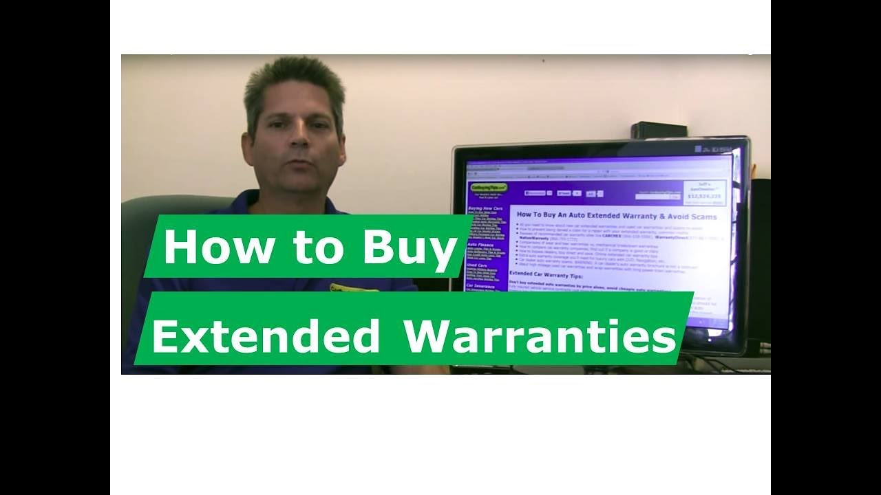 How to Buy Extended Warranties for new cars and used cars, avoid dealer scams - YouTube