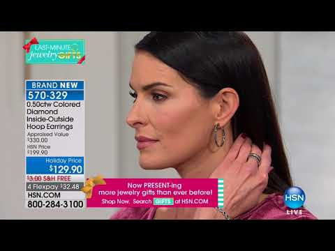 HSN | Fine Jewelry Gifts featuring Colors of Diamonds 12.13.2017 - 06 PM
