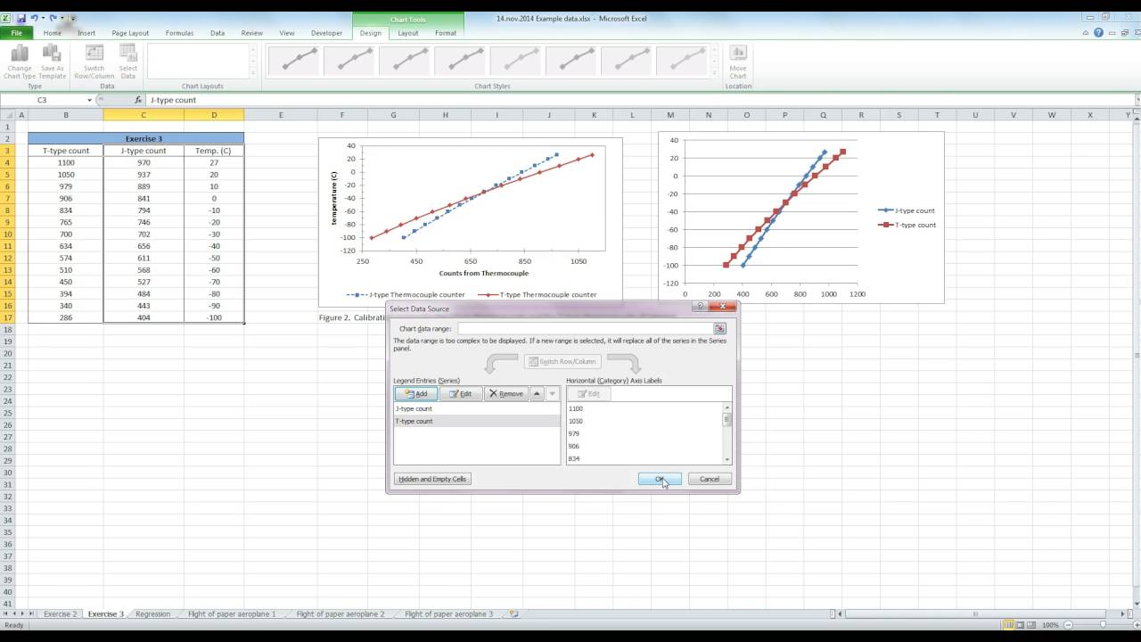 Scatterplot with 2 x axis variables in excel youtube scatterplot with 2 x axis variables in excel ccuart Choice Image