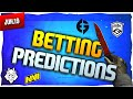CS:GO Betting Predictions BLAST Premier - G2 vs. NAVI, NiP vs. Vitality, & MIBR vs. Evil Geniuses!!!