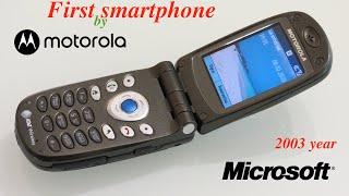 Restoration 17 year old phone - First Motorola smartphone MPx200 Razr phone