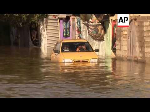 Heavy rains flood capital, cause major disruption