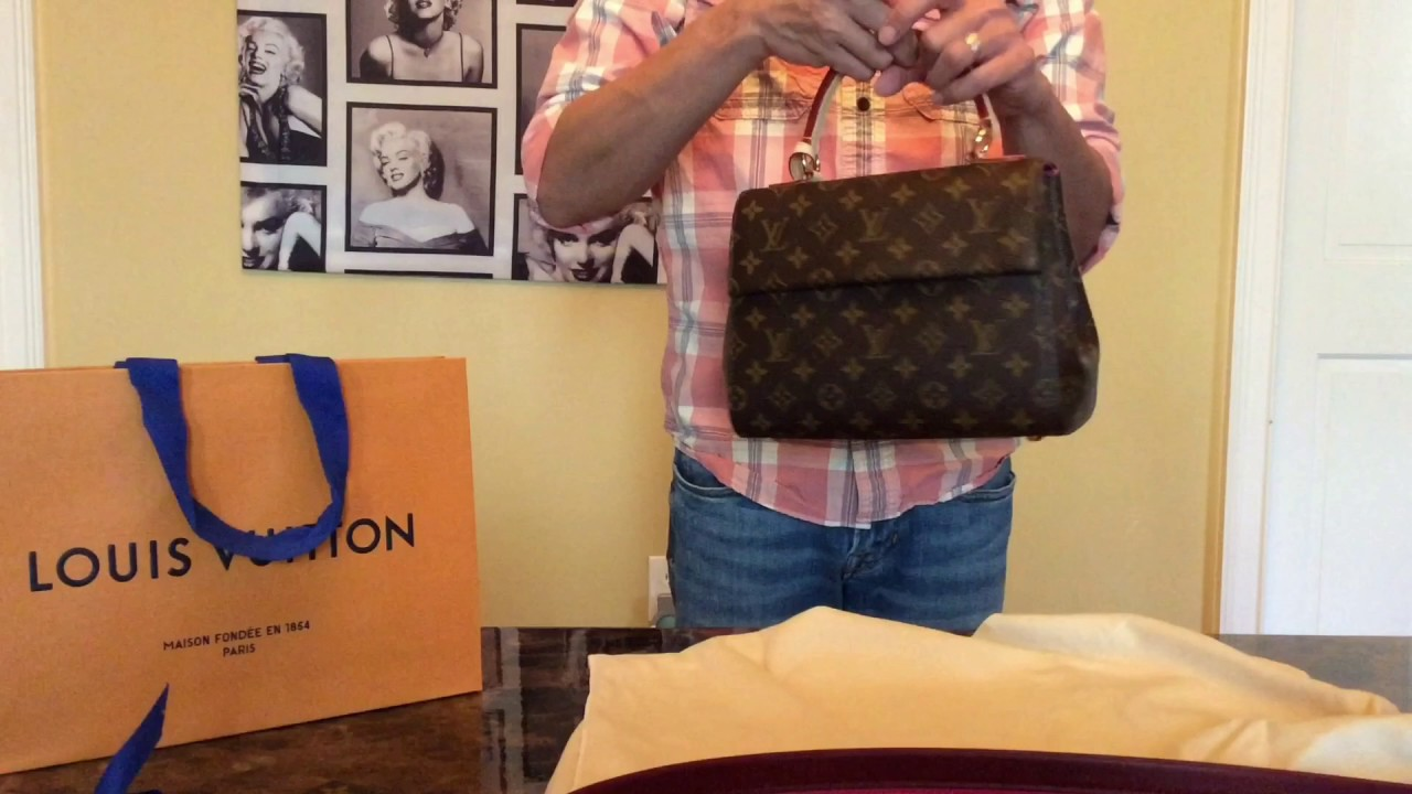 20a3f24a45d1 Louis Vuitton Cluny BB and Limited Edition Speedy Bandeau - YouTube