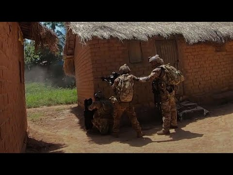 Watch: Portuguese paratroopers raid rebel base in Central African Republic