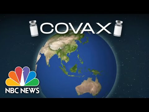 Ghana Receives First Covid Vaccine Doses Through COVAX | NBC Nightly News