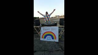 Swankie DJ Live Stream #19 Barry Island (Trance - Hardstyle) Guest - Trampy