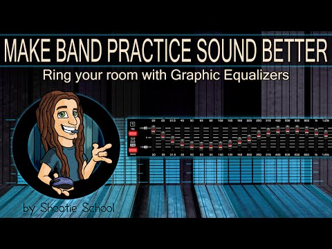 Make Band Practice Sound Better | Tuning Ringing Your PA