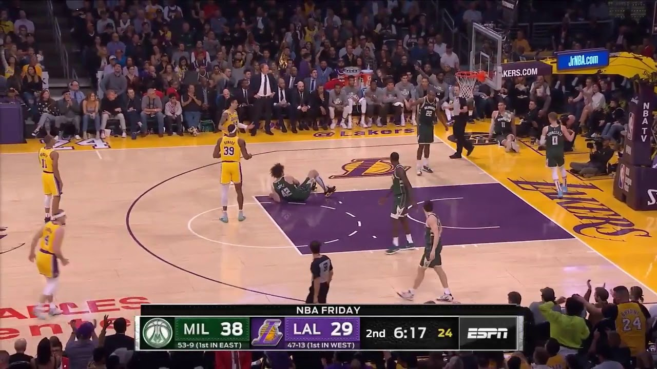 Los Angeles Lakers vs Milwaukee Bucks Full Game Highlights ...