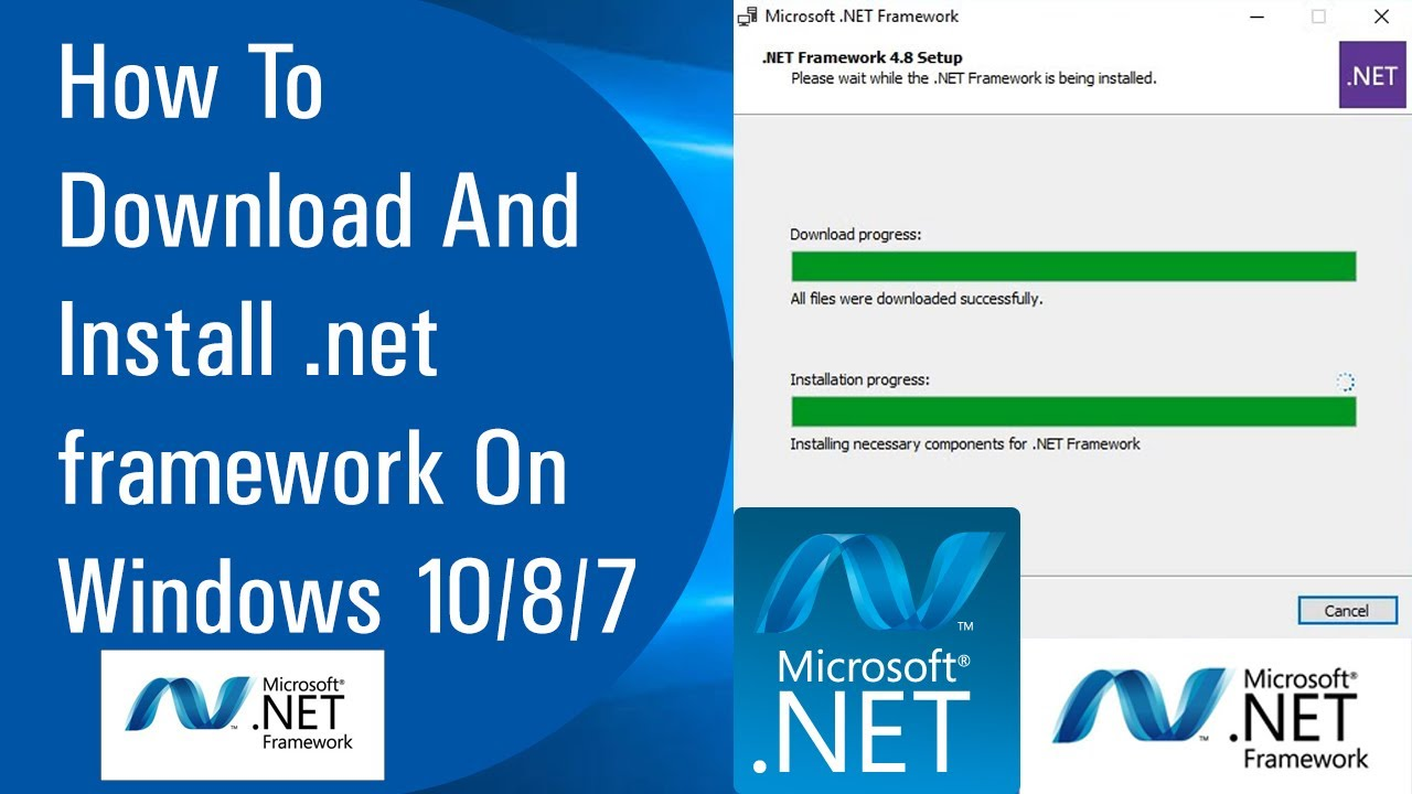 ✓ How To Download And Install .NET Framework On Windows 20/20/20 ...