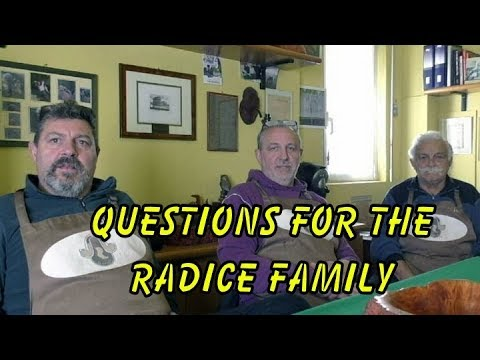 Your Questions To The Radice's