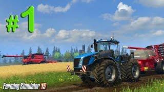 Farming Simulator 2015 Обучение, урок 1: Вспашка земли
