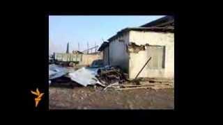 Тахриби калонтарин бозори масолеҳи сохтмонии Ҳисор