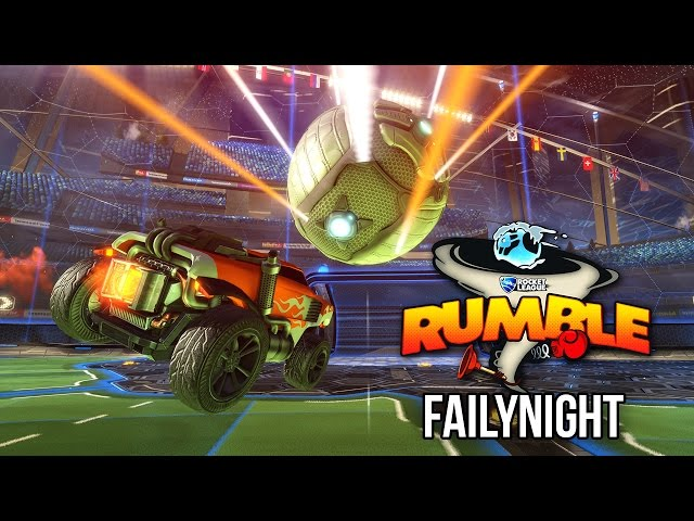 [Replay]FailyNight Septembre 2016 - Rocket League Rumble