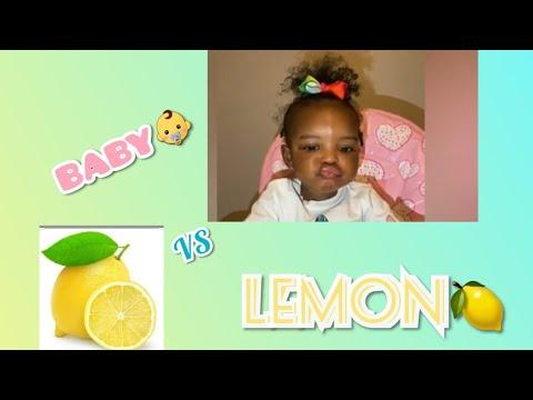 Teasing Baby Taste Buds 😋 😋( BABY 👶 VS 🍋 LEMON) - YouTube