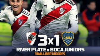 Download Video River Plate 3 x 1 Boca Juniors - Gols - Final Libertadores 2018 - Fox Sports Brasil HD MP3 3GP MP4