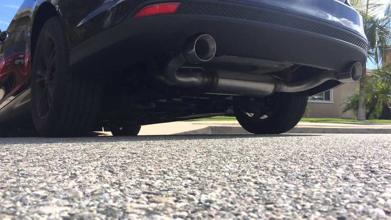 2013 Ford Focus Custom Magnaflow Exhaust Youtube