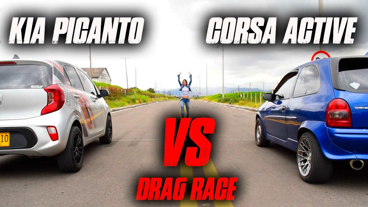 Picanto vs Corsa Active - Drag Race