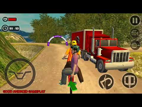 Kids Bicycle Taxi Sim 2018 : Offroad BMX - BMX Transport Friends On Hills Android GamePlay FHD