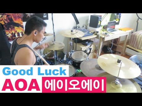 AOA - Good Luck // Drum Cover (에이오에이 - 굿럭)