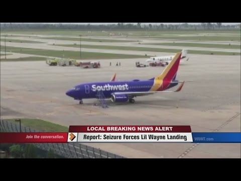 Report:  Seizure Forces Lil Wayne Landing