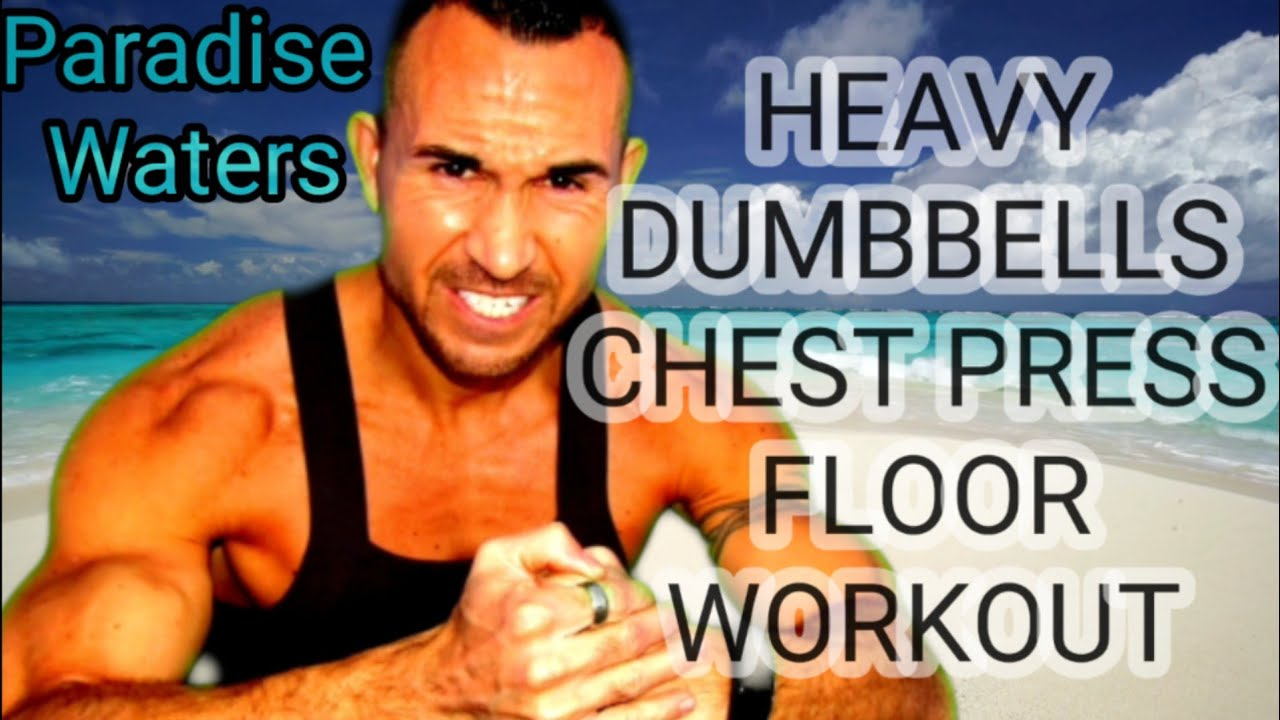 SFX Beach Workout Chest Ground Weighted Dumbbells Workout – BEST
