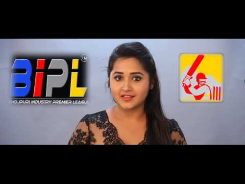 Kajal Raghwani Best Wishes for BIPL 2017