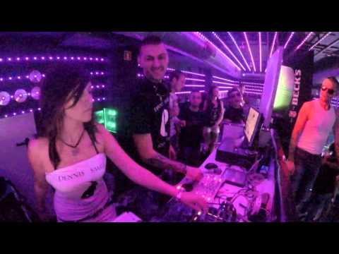 Dennis Smile & Candelitta 1 hour live MINIMAL  TECHNO  G  Club Plovdiv