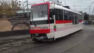 Второй запорожский трамвай вышел на линию