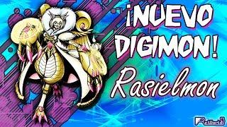 ¡NUEVO DIGIMON!: Rasielmon