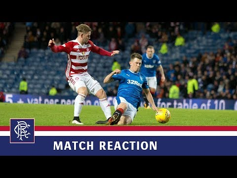 REACTION | Ryan Jack | Rangers 0-2 Hamilton