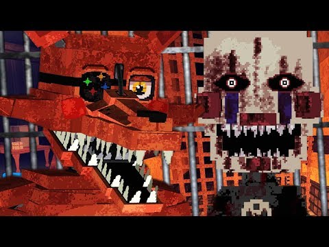 NEW TORMENTED PUPPET AND FOXY HIDDEN LOCATION! | Minecraft FNAF (Five Nights at Freddys)