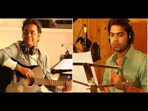 Simbu sings a Song in A.R.Rahman Music for Acham Enbathu Madamaiyada